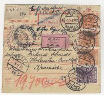 Jugoslawien Paketkarte 1930