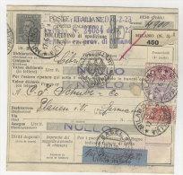 Italien Paketkarte 1930