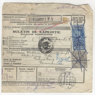 Rum�nien Paketkarte 1928
