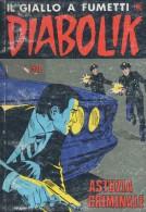 DIABOLIK N°293  ASTUZIA CRIMINALE - Diabolik