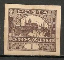 Timbres - Tchécoslovaquie - 1919 - 1. -