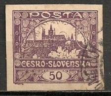 Timbres - Tchécoslovaquie - 1919 - 50. -