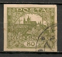 Timbres - Tchécoslovaquie - 1919 - 80. -