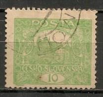 Timbres - Tchécoslovaquie - 1919 - 10. -