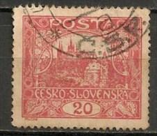 Timbres - Tchécoslovaquie - 1919 - 20. -