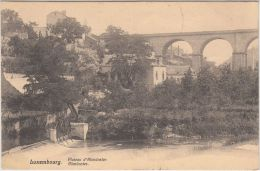 23781g  LUXEMBOURG - Plateau D'Altmünster - 1908 - Luxembourg - Ville