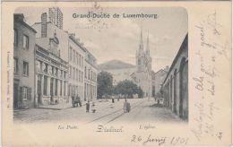 23788g DIEKIRCH - La Poste - L'Eglise - 1901 - Diekirch