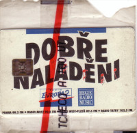 TCHECOSLOVAQUIE 100U DOBRE NALADENI RADIO EUROPA2 NSB MINT IN BLISTER RARE - Czechoslovakia