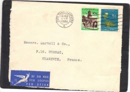 Afrique Du Sud - Devant De Lettre Avion  Cape Town 1/2/ 1966 Pour Cognac Charente France - Afrique Du Sud (1961-...)