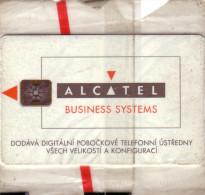 TCHECOSLOVAQUIE 100U ALCATEL BUSINESS SYSTEMS NSB MINT IN BLISTER RARE - Czechoslovakia