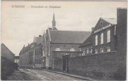 23815g KOSTSCHOOL En HOSPITAAL - Rumbeke - 1908 - Roeselare