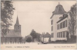 23859g  CHATEAU  - EGLISE - Ottignies - 1903 - Ottignies-Louvain-la-Neuve