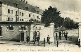 SEDAN - ARDENNES  (08)  -  PEU COURANTE CPA BIEN ANIMEE DE 1919. - Sedan