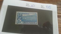 LOT 236795 TIMBRE DE COLONIE REUNION NEUF* N�117 VALEUR 18 EUROS