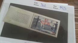 LOT 236796 TIMBRE DE COLONIE REUNION NEUF** N�301 VALEUR 43 EUROS