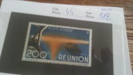 LOT 236798 TIMBRE DE COLONIE REUNION NEUF* N�44 VALEUR 18 EUROS