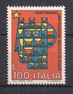 ITALIA 1975 ARCHIVI DI STATO SASS. 1309 MNH XF - 6. 1946-.. República