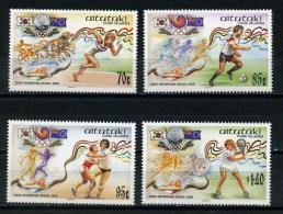 AITUTAKI   1988    Olympic  Games    Set  Of  4     MNH - Aitutaki