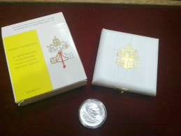 VATICANO 500 LIRE AG 1996 50 ANNIVERSARIO DI SACERDOZIO DI SUA SANTITA GIOVANNI PAOLO II CONFEZIONE ZECCA - Vaticano