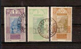 GUINEE Française  Lot De 3 Timbres Oblitérés //  Livraison En Vrac Sans Présentoir / - Guinée Française (1892-1944)