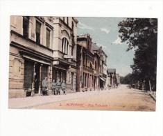 57 MORHANGE Rue Poincaré Animé  Soldats - Morhange