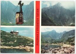 Slovakia, POZDRAV Z VYSOKYCH TATIER, Used Postcard [14574] - Slovakia