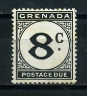 GRENADA   1952   Postage  Due   8c  Black          MH - Grenada (...-1974)