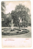 RB 1009 - Early Stengel Postcard - Aachen Germany - Posted 1957 5d Rate To Bahrain Middle East - Aachen