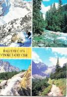 Slovakia, RALLY FICC 1974 VYSOKE TATRY CSSR, 1975 Used Postcard [14578] - Slovakia