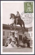 Germany 1956 MC  Berlin Berliner Stadtbilder Großer Kurfürst Horses Horse Chevaux Cheval Caballos Cavalli Pferde Paarden - Storia Postale