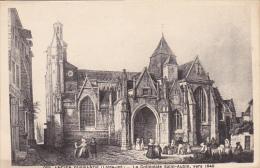 France Ancien Guerande La Collegiate Saint Aubin - Autres Communes