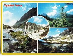 Slovakia, Vysoke Tatry, The High Tatras, Used Postcard [14587] - Slovakia