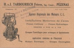 PEZENAS Tarbouriech - Autres Communes