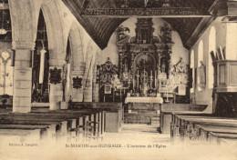 76 Saint Martin Aux Buneaux. Interieur De L'eglise - Frankreich