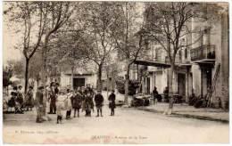 Oraison - Avenue De La Gare ( Etienne, Imp. Edit.) (asi-12941) - France