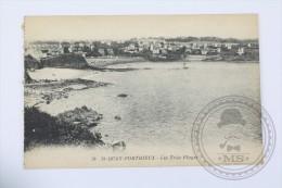 Old Postcard France:  St. Quay Portrieux - Les Trois Plages - Unposted - Saint-Quay-Portrieux