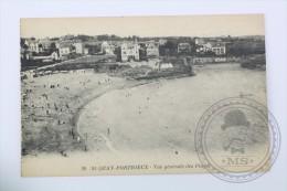 Old Postcard France:  St. Quay Portrieux - Vue Generale Des Plages - Unposted - Saint-Quay-Portrieux