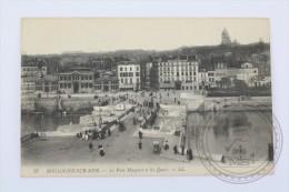 Old Postcard France:  Boulogne Sur Mer - Le Pont Marguet Et Les Quais - LL - Unposted - Boulogne Sur Mer