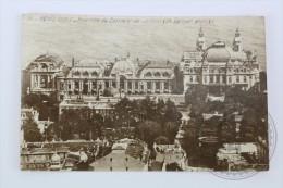 Old Real Photo Postcard Monaco - Monte Carlo - Ensemble Du Casino Et Les Jardins - Monte-Carlo