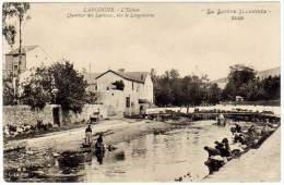 Langogne - Quartier Des Laveuses, Sur Le Longouyrou - Langogne