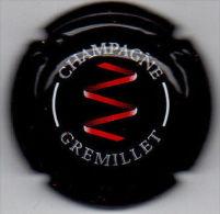 C0725 - GREMILLET J.M. - 4 - Noir Et Rouge - Champagne