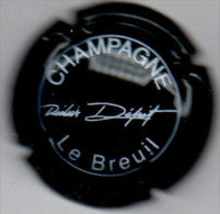 C0732 - DEPIT Didier - 1 - Vert Foncé Et Blanc - Champagne