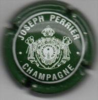 C0938 - PERRIER Joseph - 58 - Vert Foncé Et Blanc - Champagne