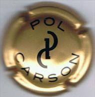 C1135 - POL CARSON - 1 - Or-Bronze Et Noir - Champagne