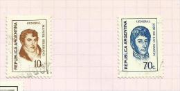 Argentine N°948 à 951, 953 à 955, 957, 958, 960, 967 Côte 2.05 Euros - Argentina