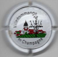 C1407 - VILLEDOMMANGE - 1 - Fond Blanc - Champagne