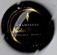 C1508 - FEUILLATTE Nicolas - 45 - Contour Noir, Centre Noir - Champagne