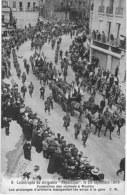 AEROSTATION ... DIRIGEABLE . BALLON MONTE .ZEPPELIN ... CATASTROPHE DU REPUBLIQUE EN SEPTEMBRE 1909 FUNERAILLE - Dirigibili