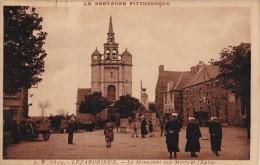 Cpa LEZARDRIEUX (22) Place Animée. - Sonstige Gemeinden