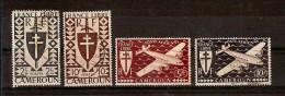 CAMEROUN LOT 4 T. Oblitérés N° 257 Et 261 + P.A. 14/15 Livrés En Vrac - Cameroun (1915-1959)